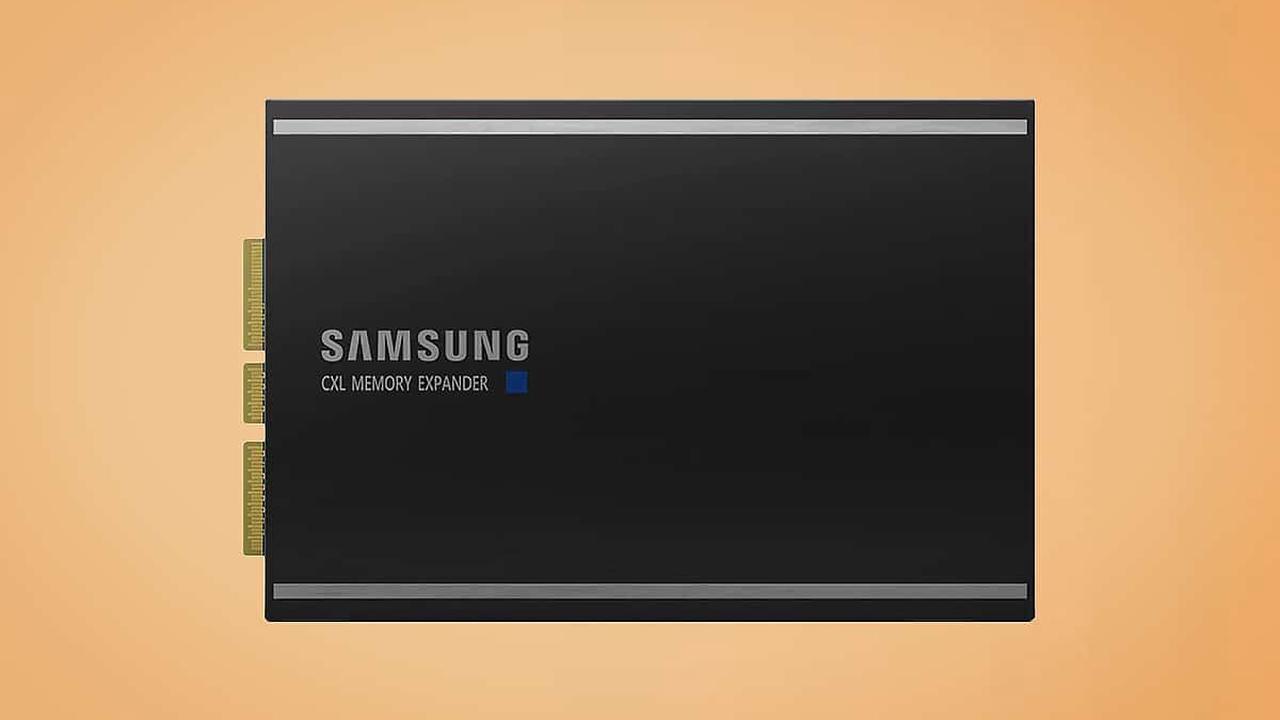 CXL : Samsung lance un nouveau type de mémoire ultra-rapide basé sur des puces RAM DDR5
