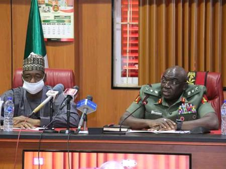 Gov Zulum Visit Nigerian Army HQ, Seeks More Cooperation To Eradicate Terrorism