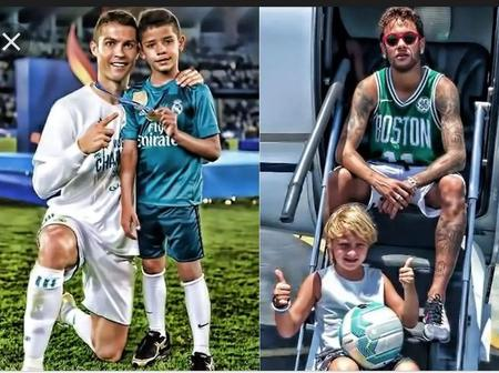 Five Famous Footballers And Their Kids
