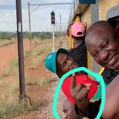 Old Pictures of Cyril Ramaphosa In Metro Train Resurface the Internet and People talking (Opinion)
