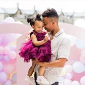 Jama from Skeem Saam left fans amazed with his recent pictures with his daughter.