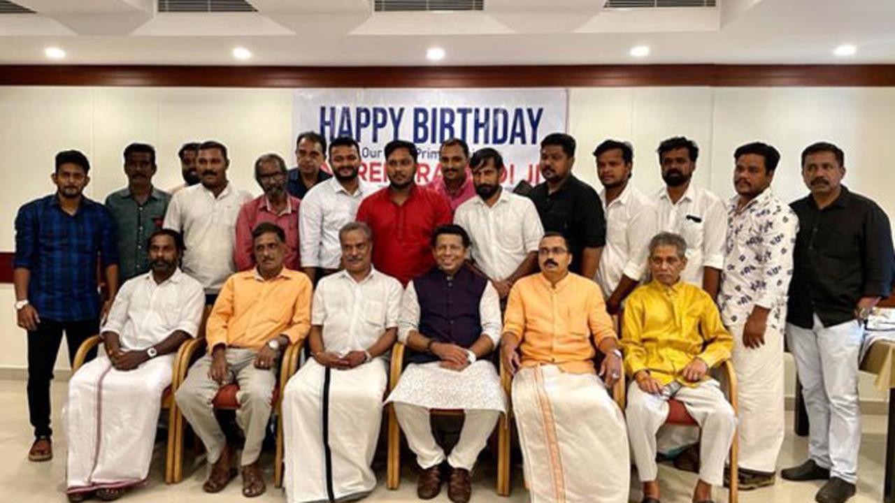 Khans Media City's President celebrated PM's birthday