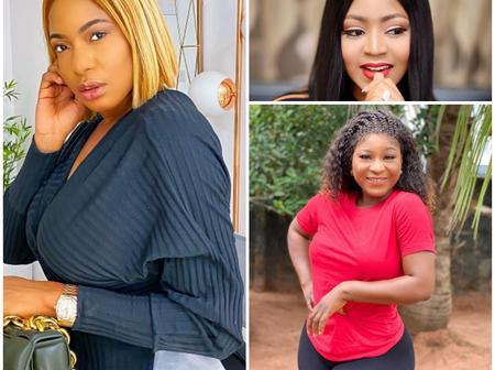 Beauty Contest: Chika Ike, Regina Daniel's and Destiny Etiko, Who Is More Beautiful?