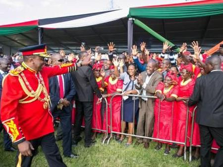 Do You Know That President Uhuru Kenyatta Is The Second Most Protected President In Africa