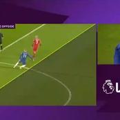 How VAR denied Chelsea a Clear Goal Scored.