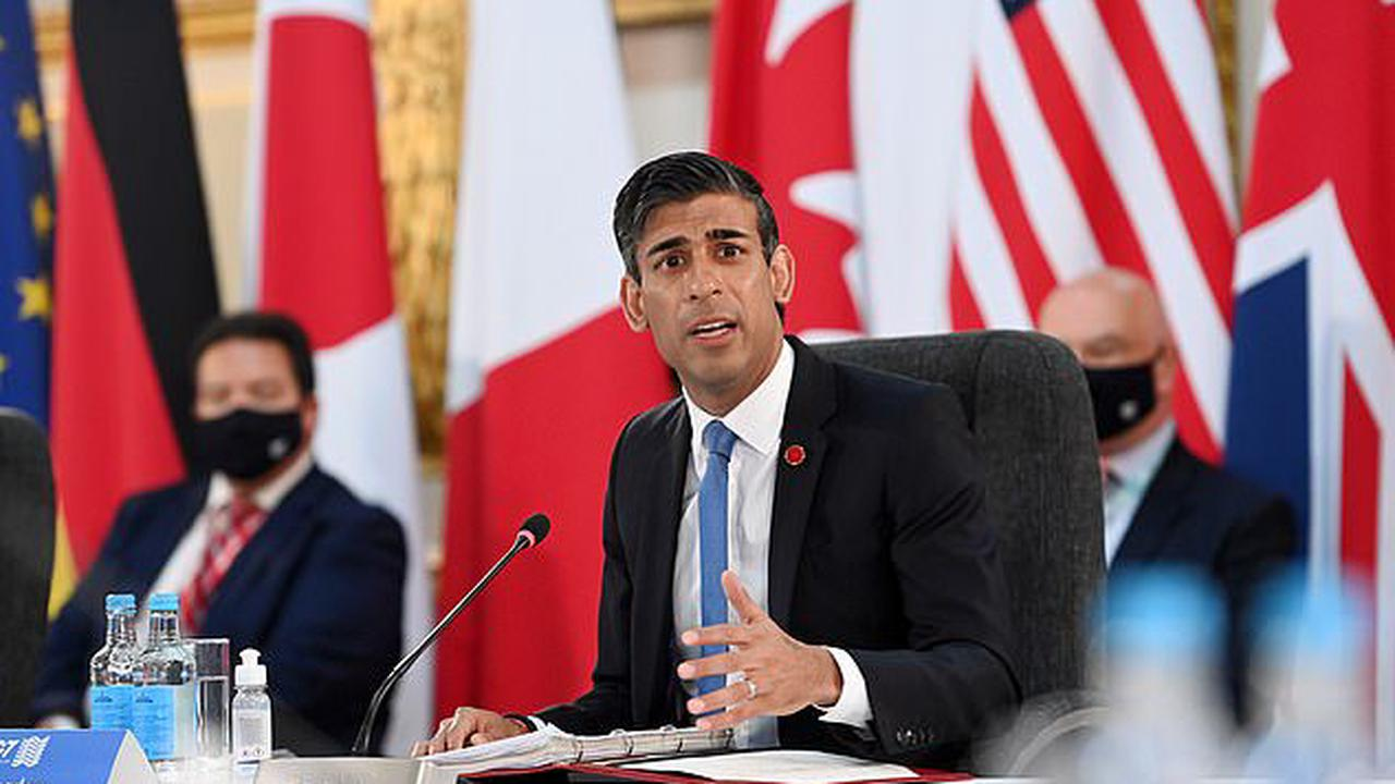 Chancellor Rishi Sunak warns Boris Johnson that Britain's draconian border restrictions are 'out of step' with international rivals and damage the economy as PM prepares to unveil new travel rules this week