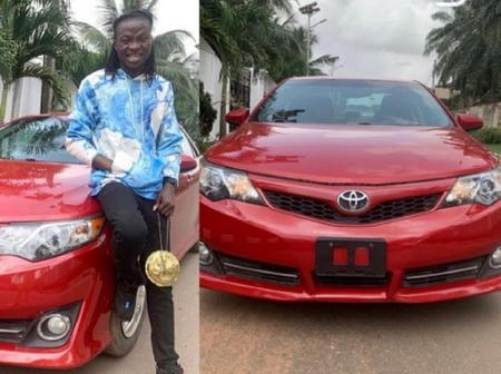 Popular Comedian Osagie Buys A Brand New Car
