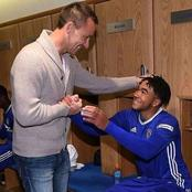 Recce James reveals what John Terry told him in the dressing room after Tottenham clash.
