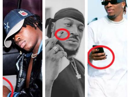 Check Out The 3 Nigerian Male Celebrities That Paint Their Fingernails