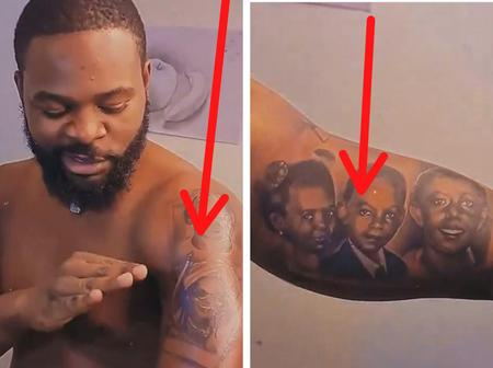 Funke Akindele, Broda Shaggi And Others React After Falz Flaunted His New Tatoos
