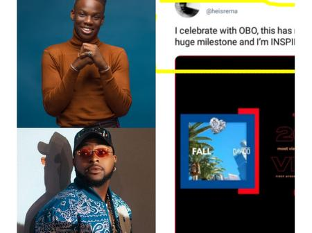 Davido and others react after Rema disclosed the person who inspired him