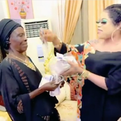 I Just Want To Make Her Happy, Bobrisky Says As He Spoils Mama With Money In A New Trending Video