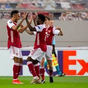 UEFA Reacts After Aubameyang Inspired Arsenal To A 3:2 Victory In The Europa League (Photos)