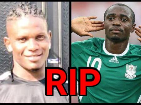 7 Nigerian Footballers Who Sadly Died Before The Age Of 35 (PHOTOS)