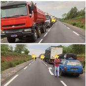 Grave accident de la circulation sur l'axe Bouaké-Katiola: plusieurs victimes, la route bloquée