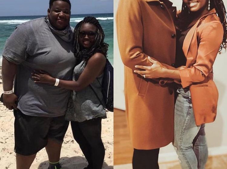 No one Believes this Couple Are The same People in the two Photos (Video)