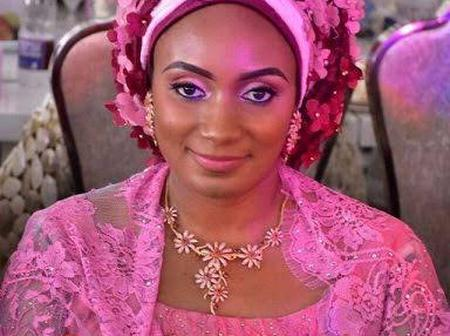 Check Out The Beautiful Daughter Of Late Yar'adua Who Got Married To Former Bauchi State Governor