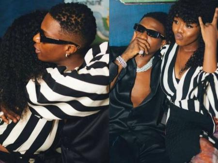 More Photos Of Wizkid And Gyakie