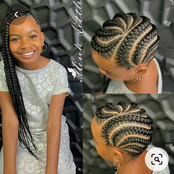 Mothers, Your Daughters Can Look Like Princesses With These Simple And Beautiful Hairstyles