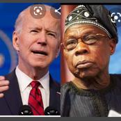 Today's Headlines: Joe Biden Sends Message To The World, Olusegun Obasanjo Commends Yahaya Bello