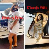 Photos Of Destiny Etiko, D'banj's Wife, Regina Daniels, E-Money's Wife Posing With Multi-million Cars