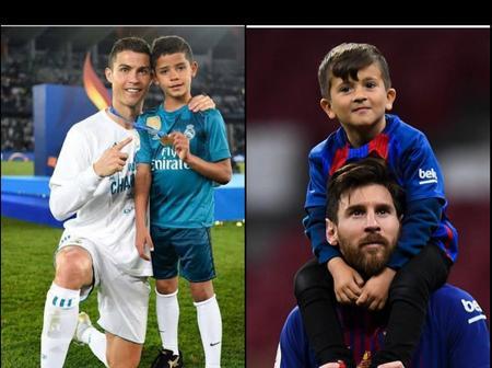 Lionel Messi Son Vs Cristiano Ronaldo's Son: Who Would Become Greater In The Future?