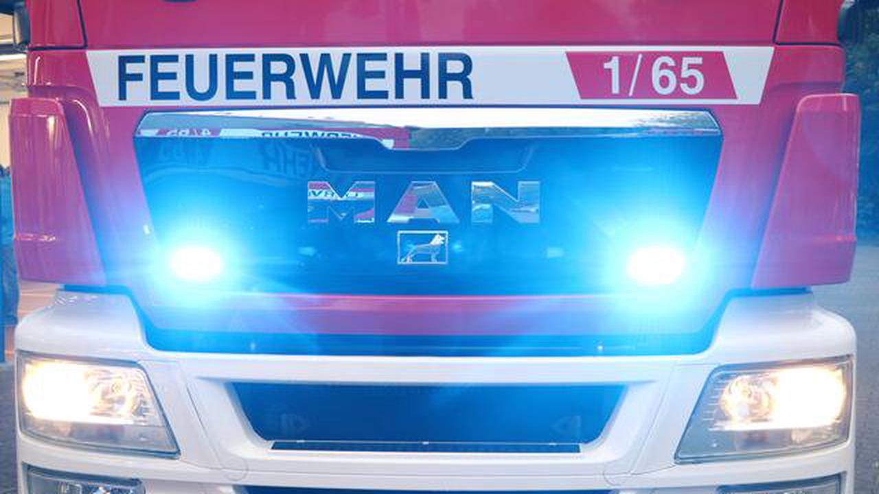 Sachschaden zwischen 30.000 und 40.000 Euro Fernseher gerät in Brand