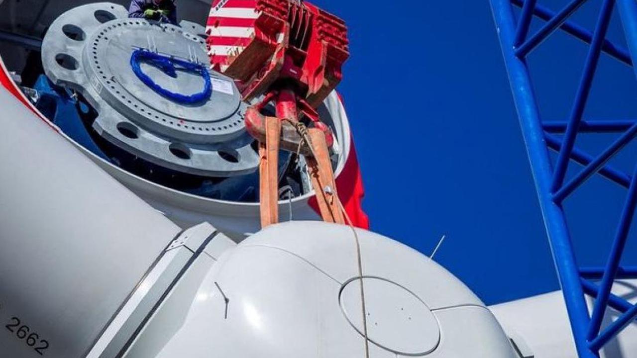 Energie: Offizieller Startschuss für Windpark Hoort: 16 Anlagen