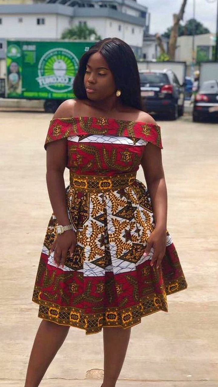 2020 Latest Ankara Short Gown Styles For Beautiful African Woman