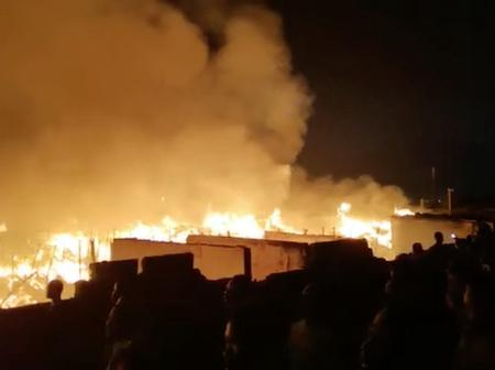 Kantamanto fire has caused us our Christmas celebrations (screenshots and video)