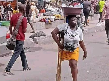After she was spotted hawking in her condition, see what a philanthropist has promised to do for her