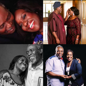 These Loved-up photos of Olu Jacobs and Joke Silva passes a Message to young couples.