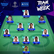 UEFA releases champions league team of the week, Bayern Munich dominates, while Neymar misses out.
