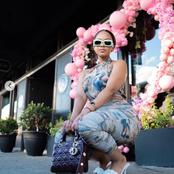 Famous influencer Mihlali Ndamase left fans dumbstruck with her recent dazzling pictures.