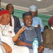 Rochas Okorocha and Hope Uzodinma Were Good Friends Before their Recent Fallout, See Pictures