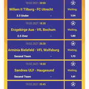 Saturday Must Win Bet Slip To Place on For a Mega Return