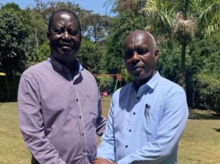 Major Boost For Raila As Makueni Governor Kibwana Hints at Plan To Join His Camp