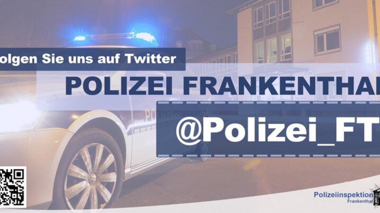 POL-PDLU: Bobenheim-Roxheim - Festnahme eines aggressiven Randalierers