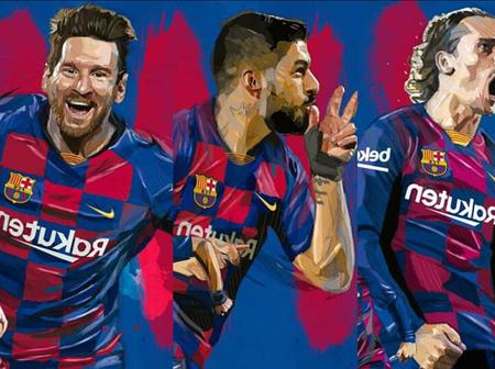 Check out wallpapers of Lionel Messi, Antonnie Griezmann and other Barcelona players