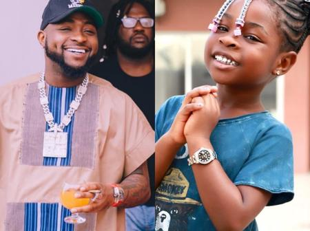 Singer Davido Spotted With His Daughter Imade, Barely 24 Hours After He Was Seen With Ifeanyi
