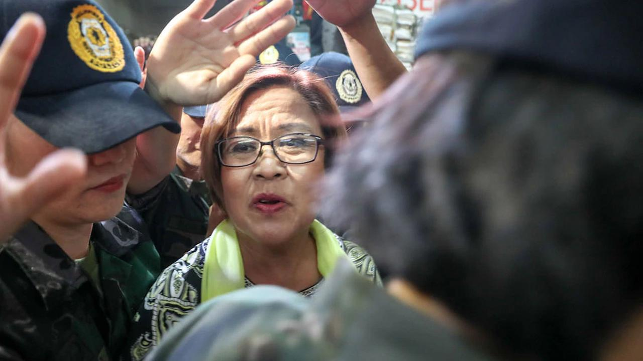 DOJ rests 2 of its illegal drugs cases vs De Lima; senator's camp to file demurrer to evidence