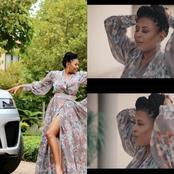 See Basetsana Kumalo's reaction when she received her new car delivered by Minnie Dlamini-Jones.