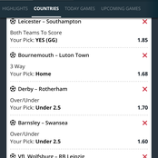 Saturday's 7 Expertly Analysed Matches With Great Odds To Earn Big