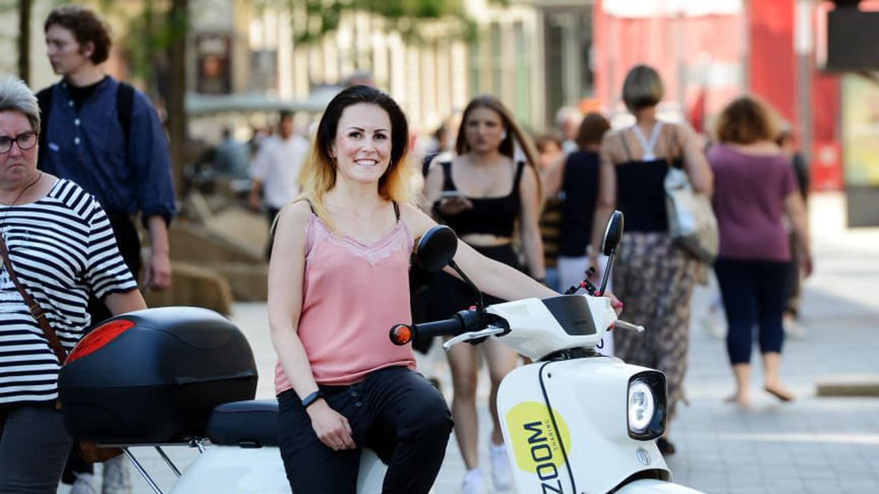 So funktioniert Leipzigs neues Miet-Moped