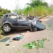 Trois membres d'une même famille périssent dans un accident, voici ce qui a tout provoqué