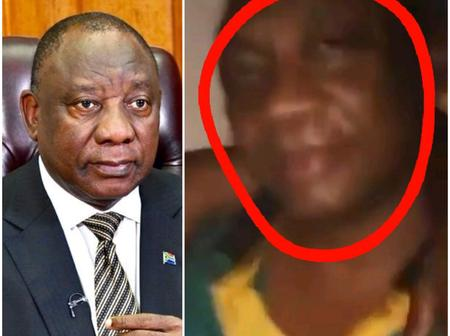 The Truth About The Man Who Looks Like Ramaphosa, Here's What Was Found About Him