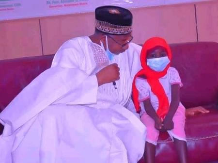 Bauchi Governor Saved The Life Of Girl Who Was Attacked By Ritualist