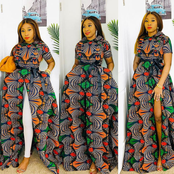 Fashionistas, Check Out These Latest Maxi Ankara Gown Styles for you