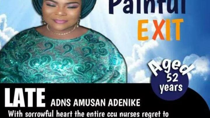 Tears As Beautiful Nurse Allegedly Died of COVID-19 in Lagos ...