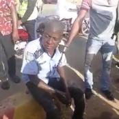 A drunk policeman was allegedly authorized to be on duty at the road